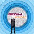 Business word cloud for business concept, Personal Development