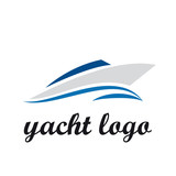 Logo yacht and boat # Vector