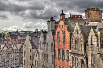 Roofs of Old Edinburgh