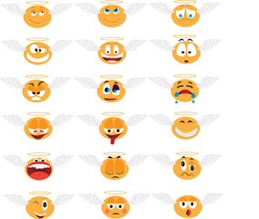 18 angel emoticons