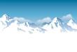 Fototapeten,berg,schnee,fels,gebirgskette