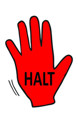 HALT - Stop