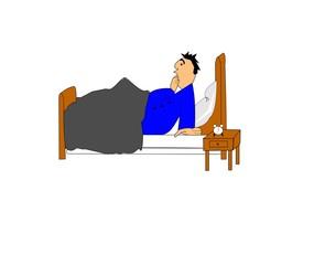 morning wake up call cartoon