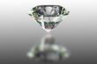 Illustration of a diamond