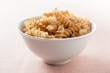 bowl of macaroni integral