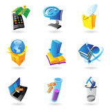 Icons for industry and ecology