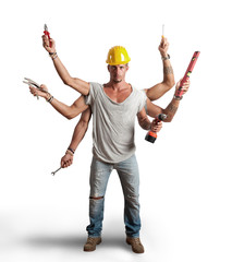 Multitasking worker conept