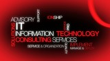 Information technology consulting IT red tag cloud video