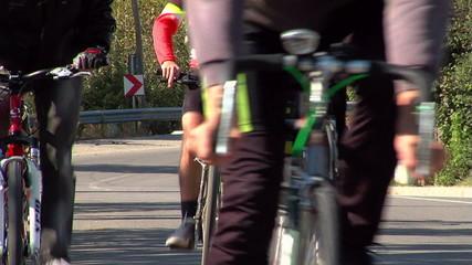 Bikes /Wheels close up ...
