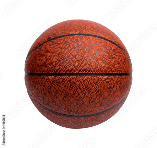 Close-up of a basketball