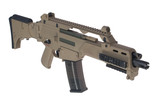 Modern weapon. German army assault rifle G36. poster