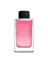 Botle of perfume isolated on white
