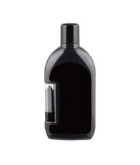 Cosmetic black bottle