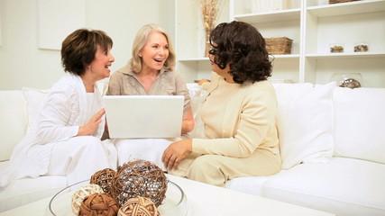 Seniors Successful Planning via Laptop Computer