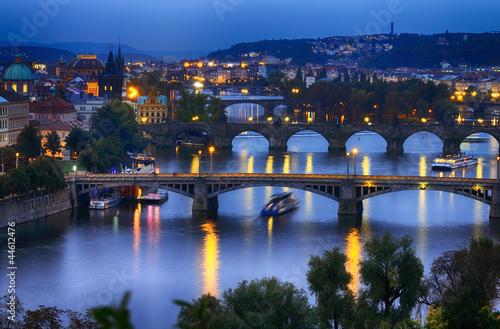 Prague at night - 44612476