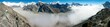 view of Everestse, Lhotse and cho oyu