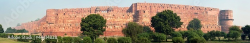 The Agra Fort is a UNESCO World Heritage site located in Agra