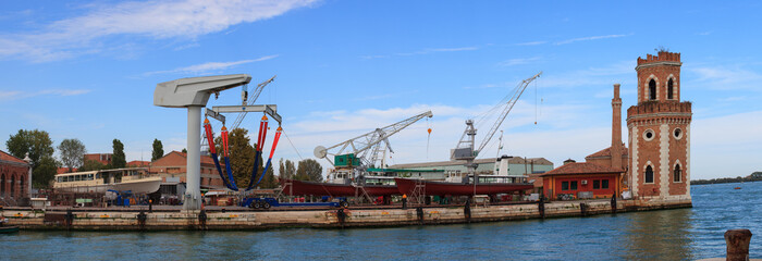 Shipyard, Arsenale in Venice