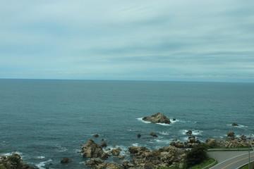 五能線 リゾート白神からの景色