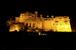 Bundi Palace at night, Rajasthan.