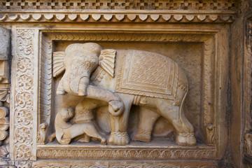 Sar Bagh (Royal Cenotaphs), Bundi, Rajasthan.