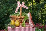 Zutaten für Birnen,Bohnen und Speck (norddeutsche Spezialität)