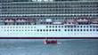 Kreuzfahrtschiff vor Madeira