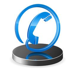 3D Telefon Icon