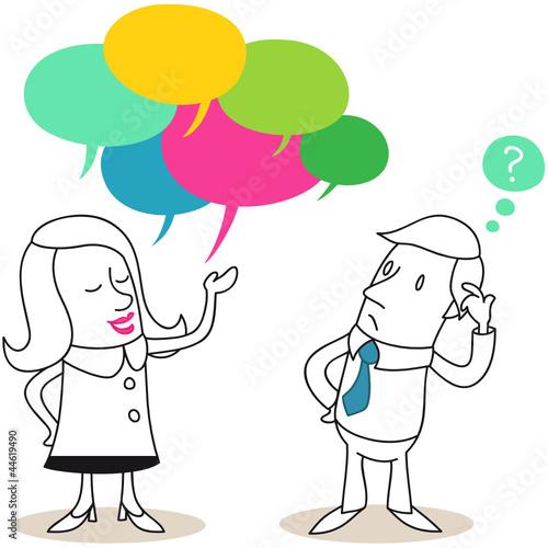 kommunikation frau mann