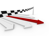 3D Arrow Race Goal
