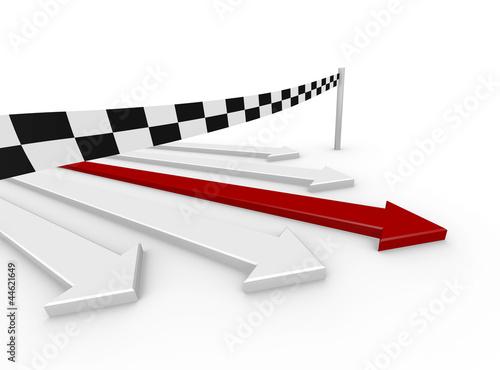 3D Arrow Race Goal