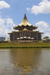 New parliament building in Kuching, Sarawak, Borneo