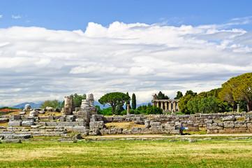 Tempelanlage in Paestum