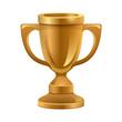 Gold trophy