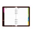 cahier/agenda/planning/répertoire
