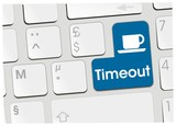 clavier timeout