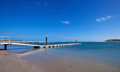 Spiaggia si Kalbarri, Kalbarri beach, Australia