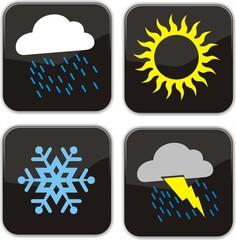 boutons météo