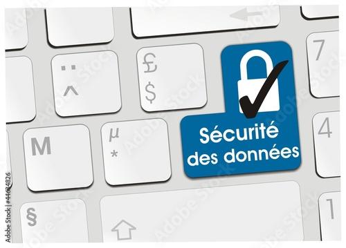 clavier sécurité des données
