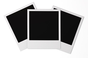 Isolated Photo Frames
