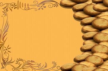 Moldura de Biscoitos