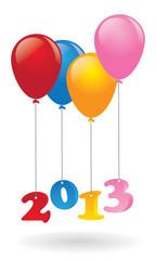 Ballon new year