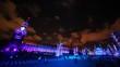 Illuminated Red Square