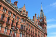 London, UK - St. Pancras station