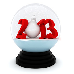3d Happy New Year 2013 !