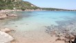 Beach, sea and coast in La Maddalena island, Sardinia, Italy
