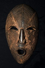 African Tribal Mask - Lega Tribe