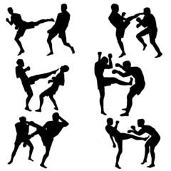 Combat sports man