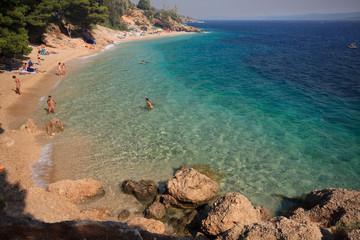 spiaggia di Murvica (Bol - isola di Brac - Croazia)