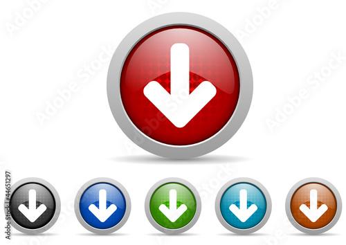 arrows vector icon set